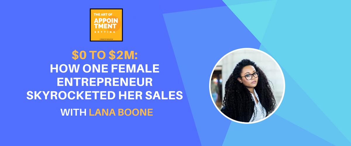 female entrepreneur lana boone