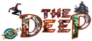 The DeeP Comics & Games Logo