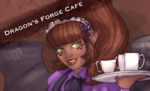 Dragon's Forge Cafe Logo