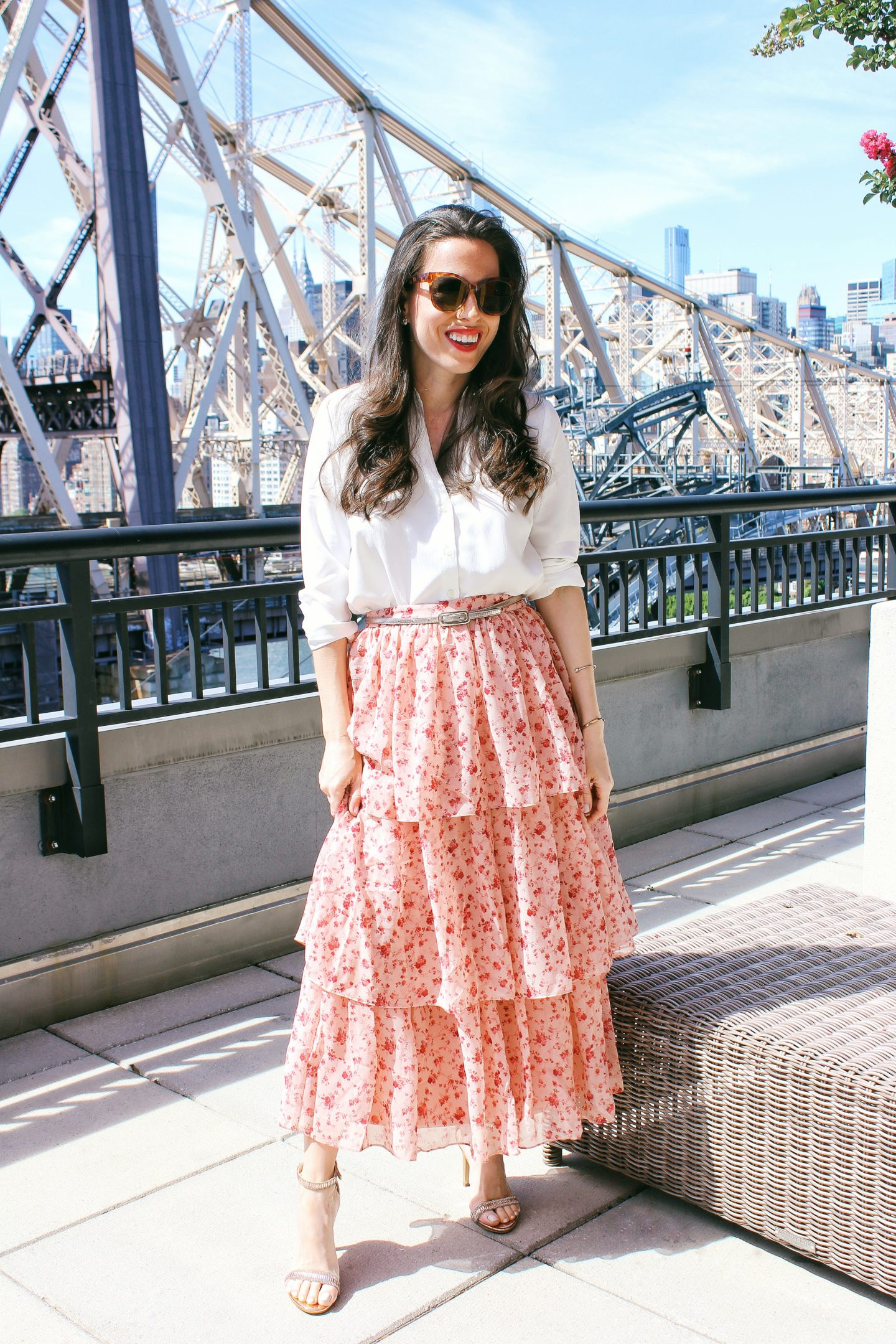 ana-florentyna-wearing-rachel-parcell-tiered-skirt