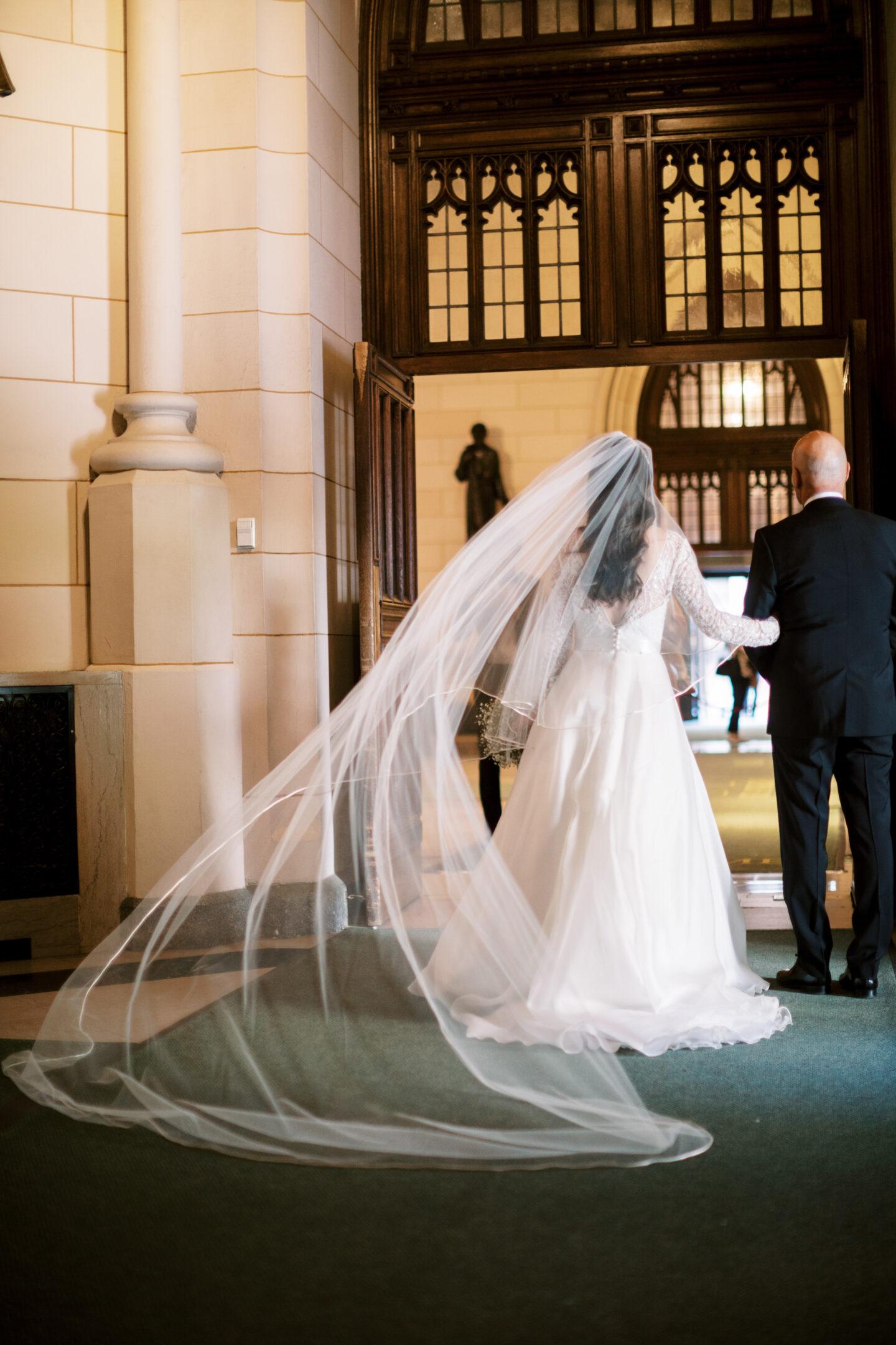 Ana Florentina wedding at St Patricks Cathedral