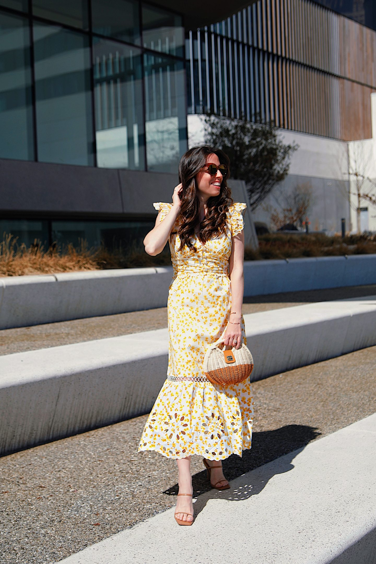 Yellow Dress Easter outfit idea - Ana Florentina