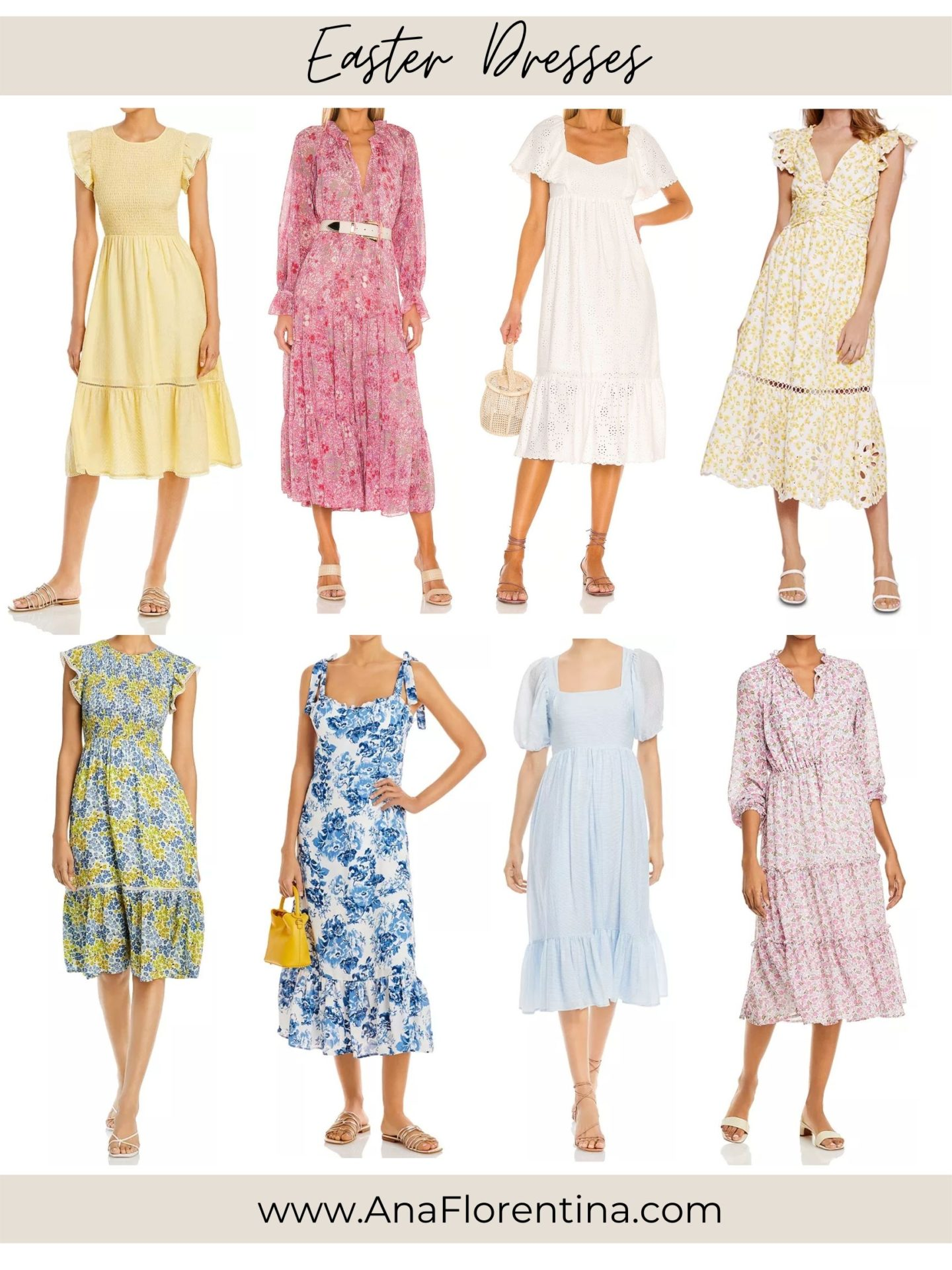 Easter dresses outfit ideas by Ana Florentina