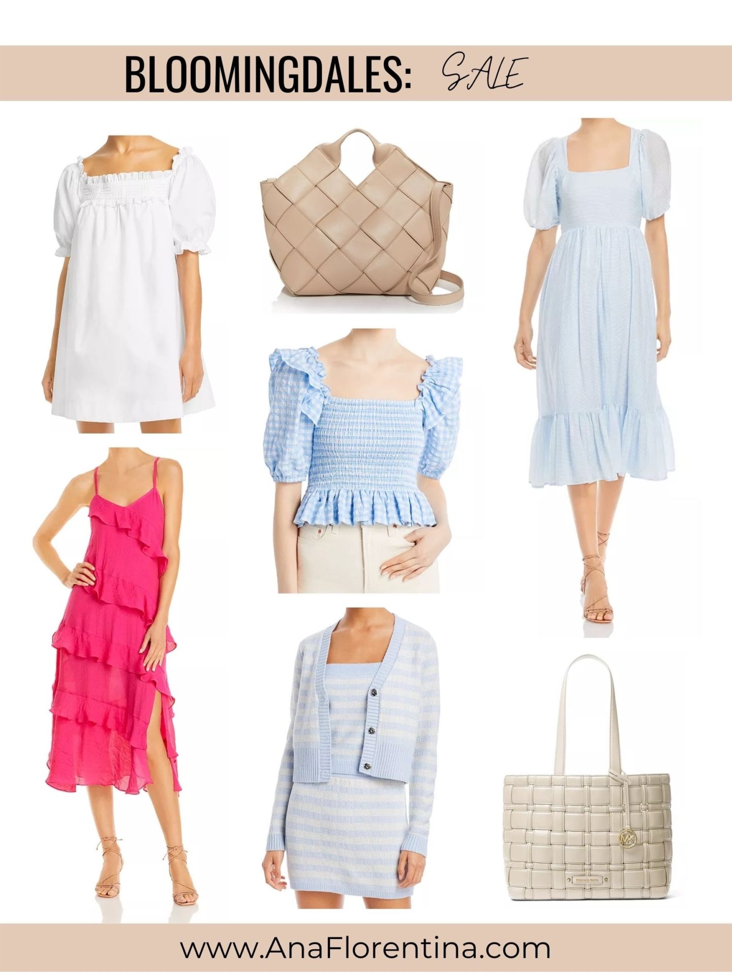 Ana Florentina Bloomingdales friends and family sale
