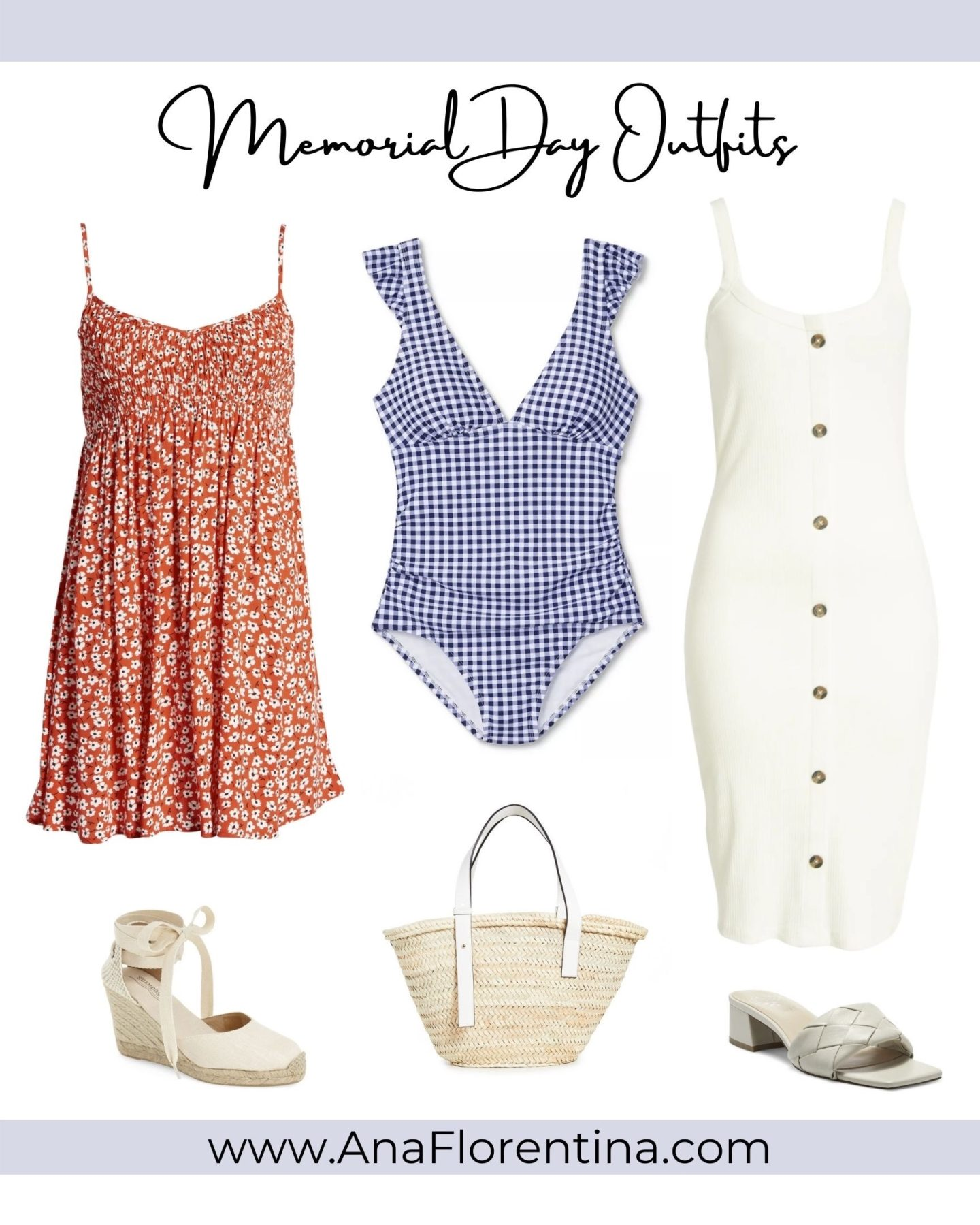 Memorial Day Outfits and Sales