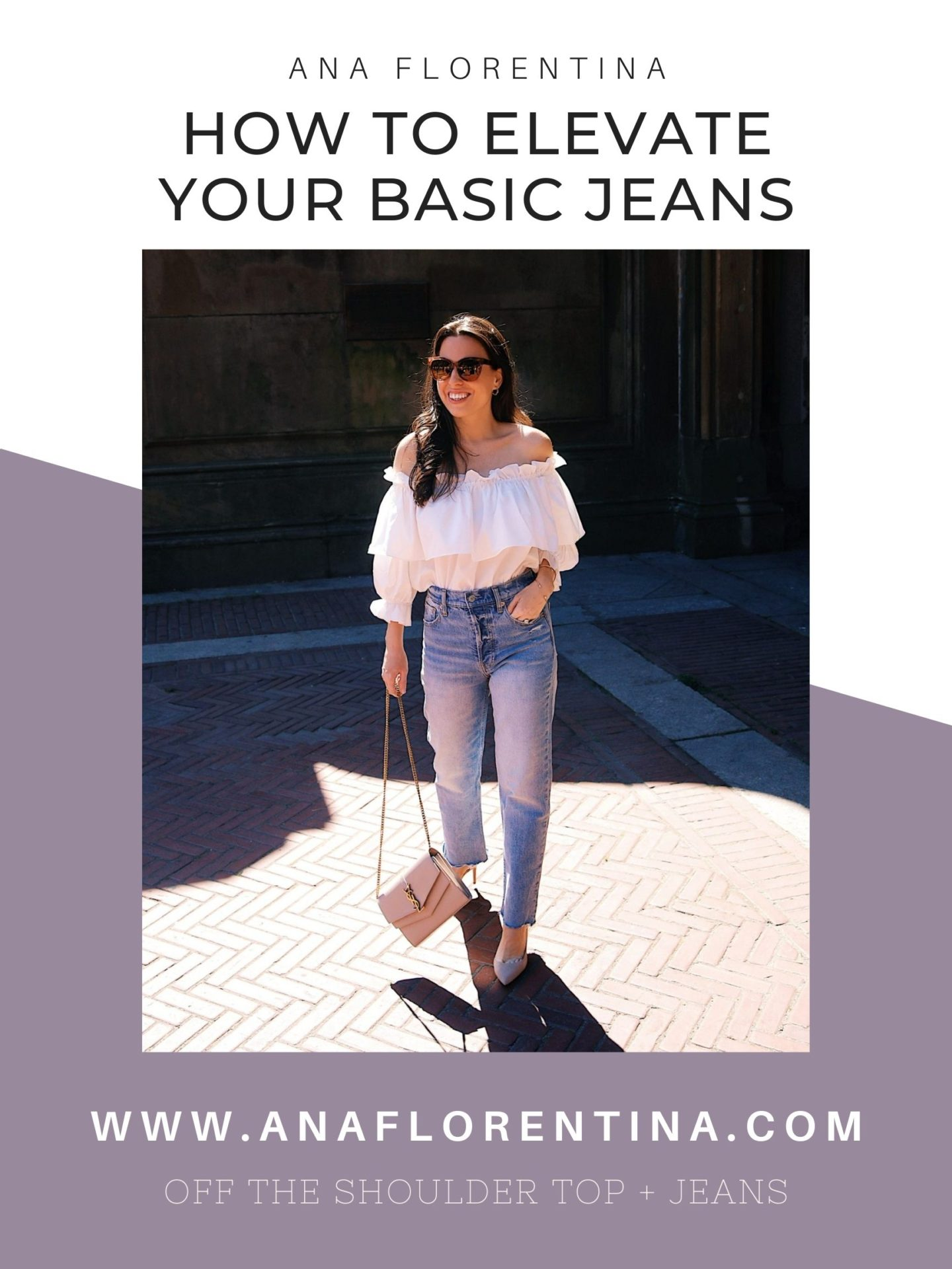 how to elevate your basic jeans