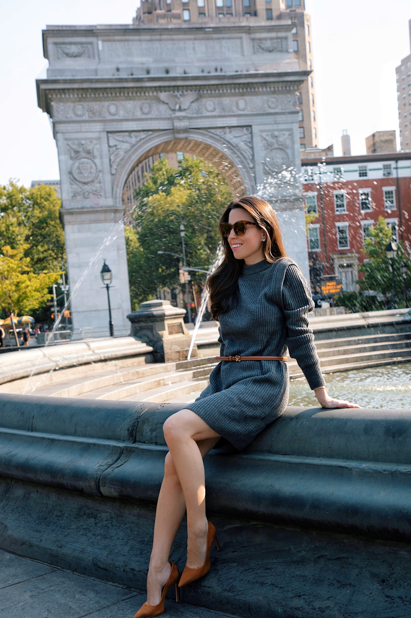 sweater dresses for fall how to style them