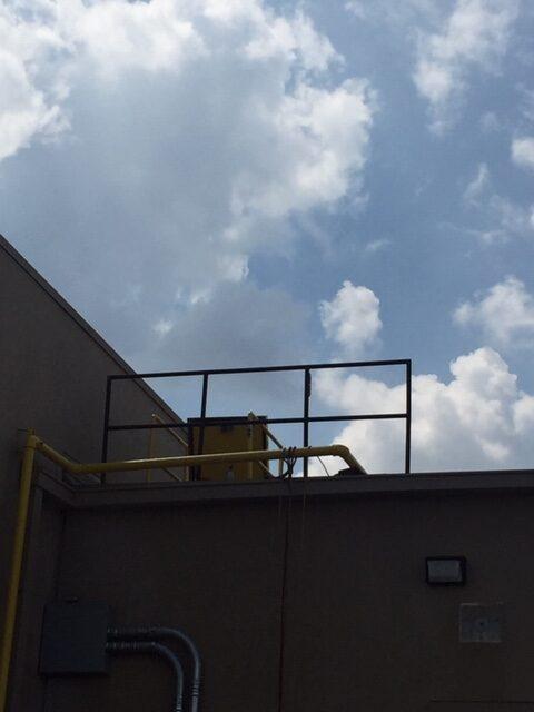 10 Inch Roof Hatch Guardrail