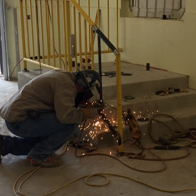 Handrail fabrication and extention