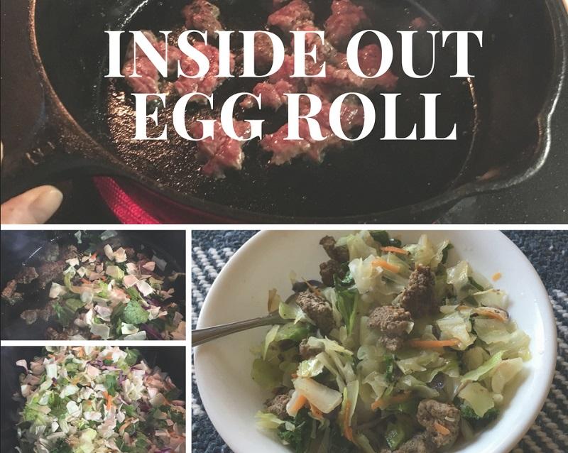 inside out egg roll