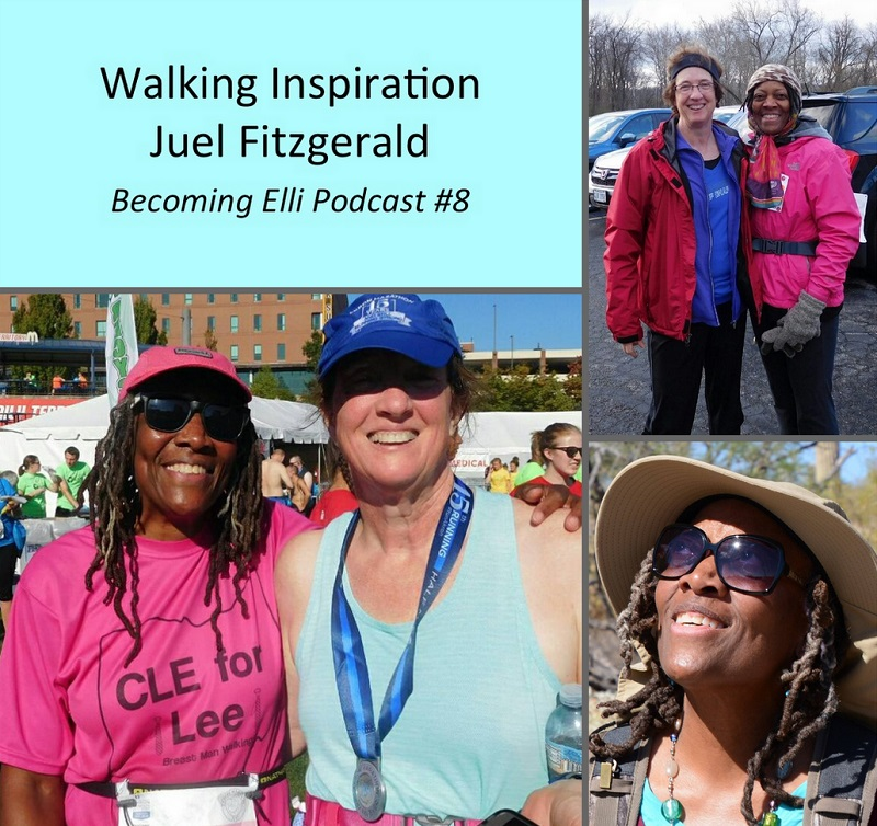 walking inspiration with Juel Fitzgerald
