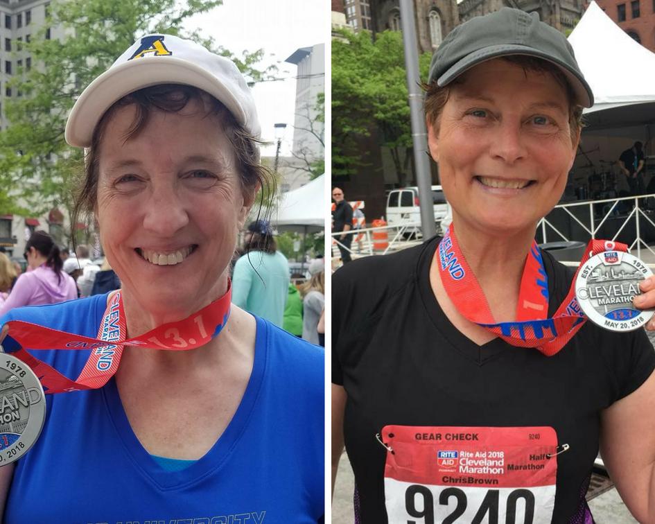 Finishers - 2018 Cleveland Half Marathon