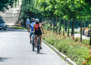 Stay cool during summer heat while bike riding
