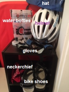grab and go exercise bike supplies