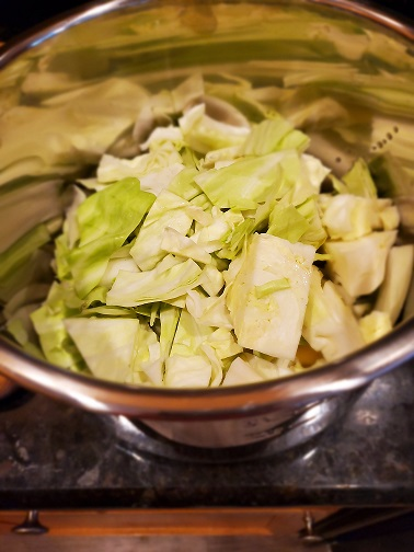 cabbage in Instant Pot
