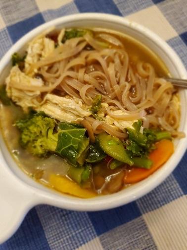 Miso Ginger Noodle Soup