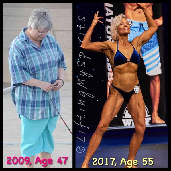 Lifting My Spirits - Tammy White  - Before and After