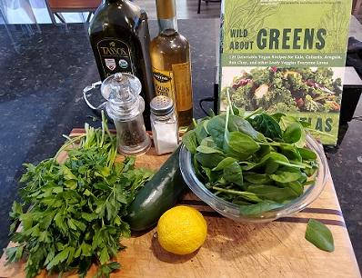 Green Goodness Salad Dressing