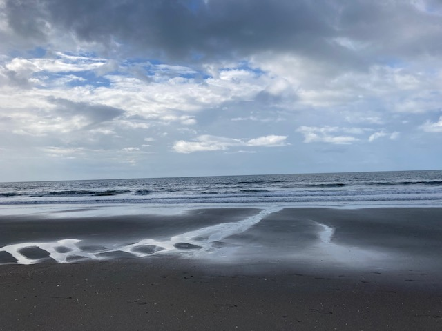 why I stay fit beach walks in the sand