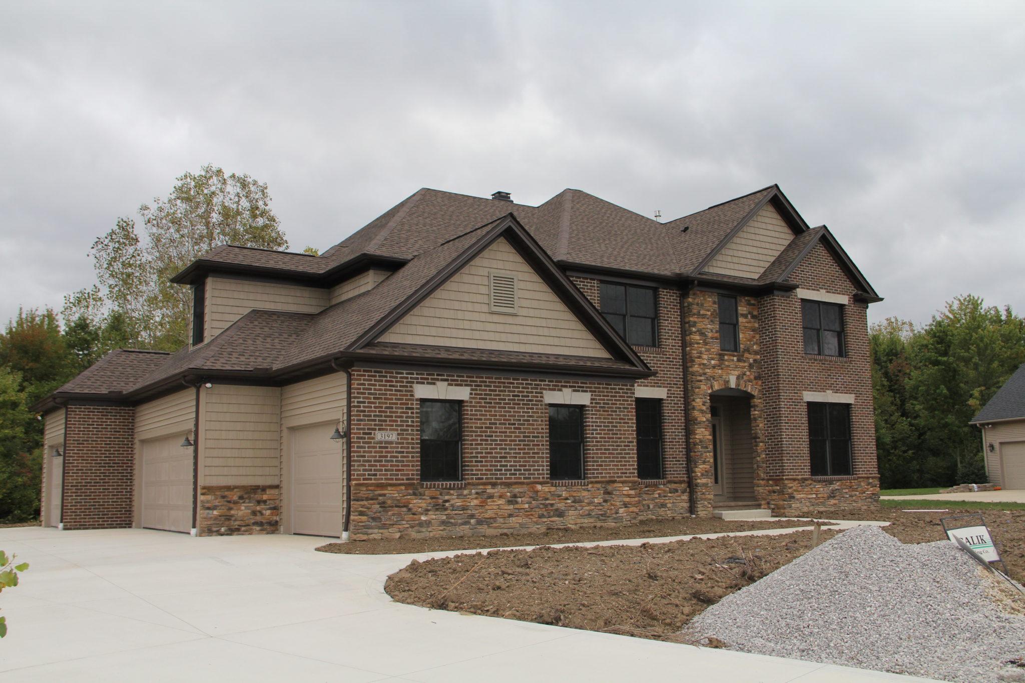 Custom Home near Cleveland, OH built by Galik Building