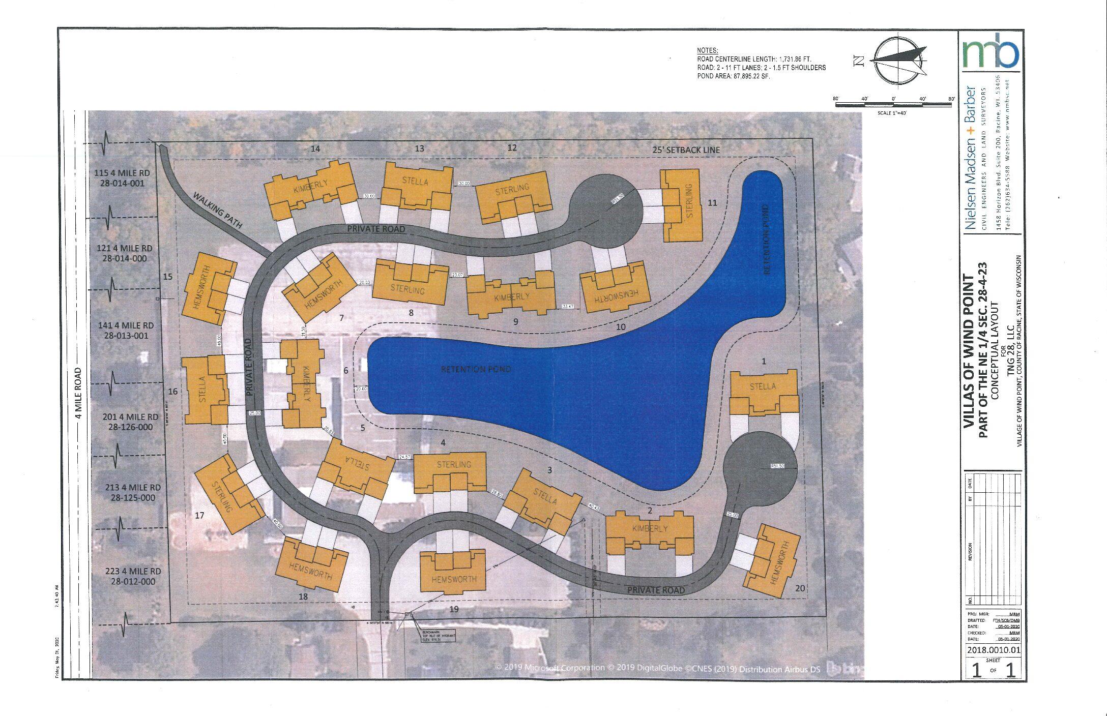 Villas of Wind Point Development Updates