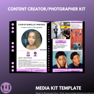 Custom Media Kit Design
