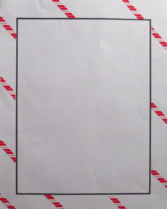 candy cane stickers