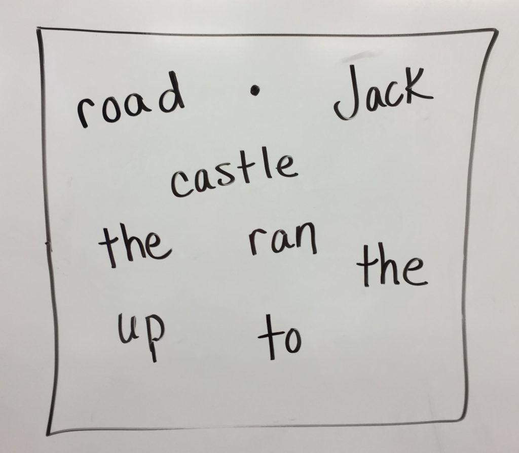 jack and the beanstalk writing prompt.