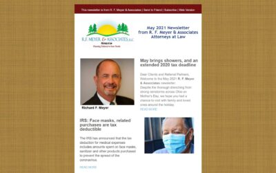 May 2021 newsletter now available