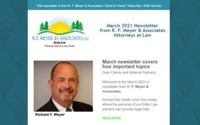 June 2021 newsletter covers home health care, reverse mortgages, Medicaid eligibility