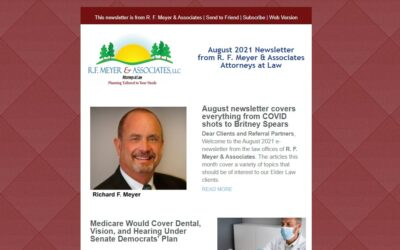 August 2021 newsletter covers everything from COVID shots to Britney Spears