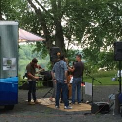 Concert at the Mobile Art Gallery