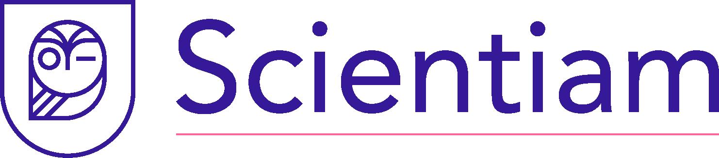 Scientiam Blue Letter Final Logo
