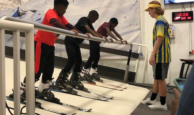 Youth Ski Deck Lessons