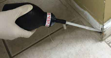 Bed Bug Insecticide Dust Treatment