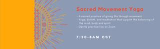 Sacred Movement Yoga