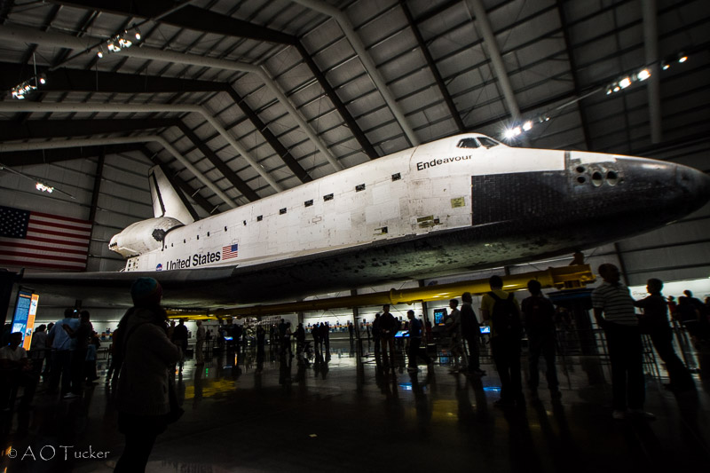 Endeavour Shuttle - Los Angeles Day 1 post
