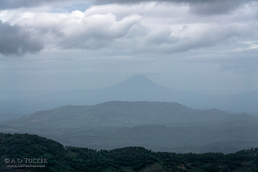 Volcano From Don Luis - Gringo In Nicaragua - Tisey Estanzuela Natural Reserve post