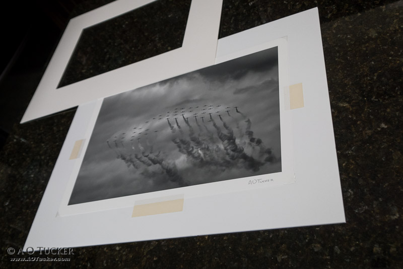 Matted Print