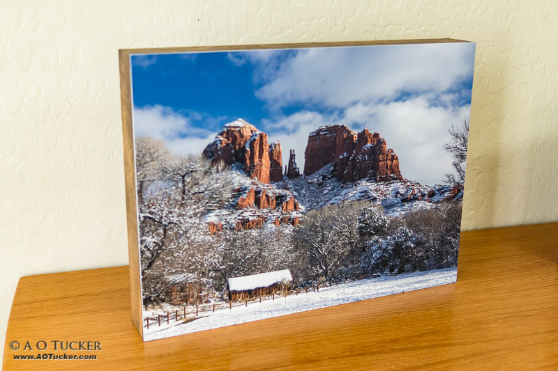 Cathedral Rock White Blanket Derivatives Exhibit