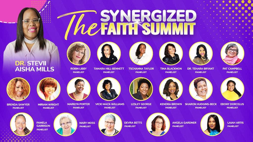 synergized faith summit flyer