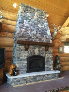 Fire Place Stonework Project