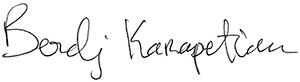 AAM Executive Chairman Berdj Karapetian Signature