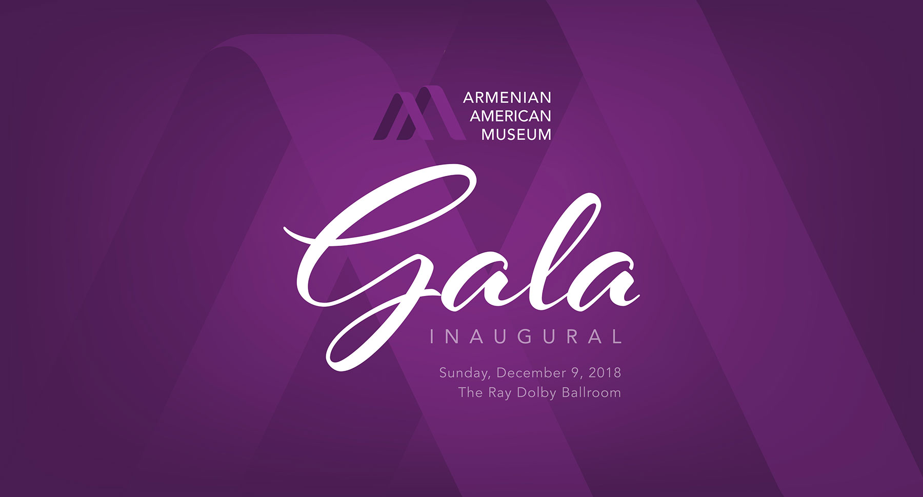 AAM Gala Dolby Banner Logo