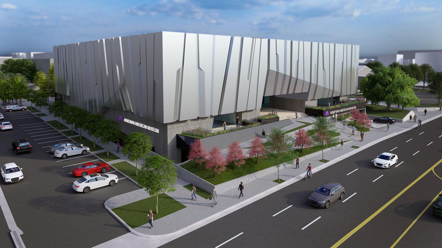 AAMCCC Rendering Aerial Street Southwest