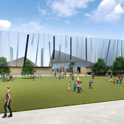 AAMCCC Rendering Central Park Lawn View