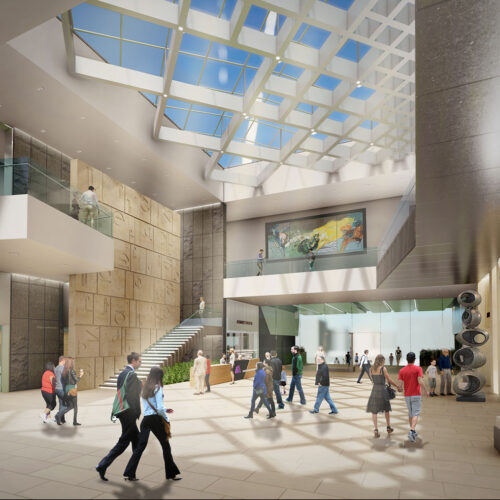 AAMCCC Rendering Interior Lobby North