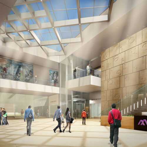 AAMCCC Rendering Interior Lobby South