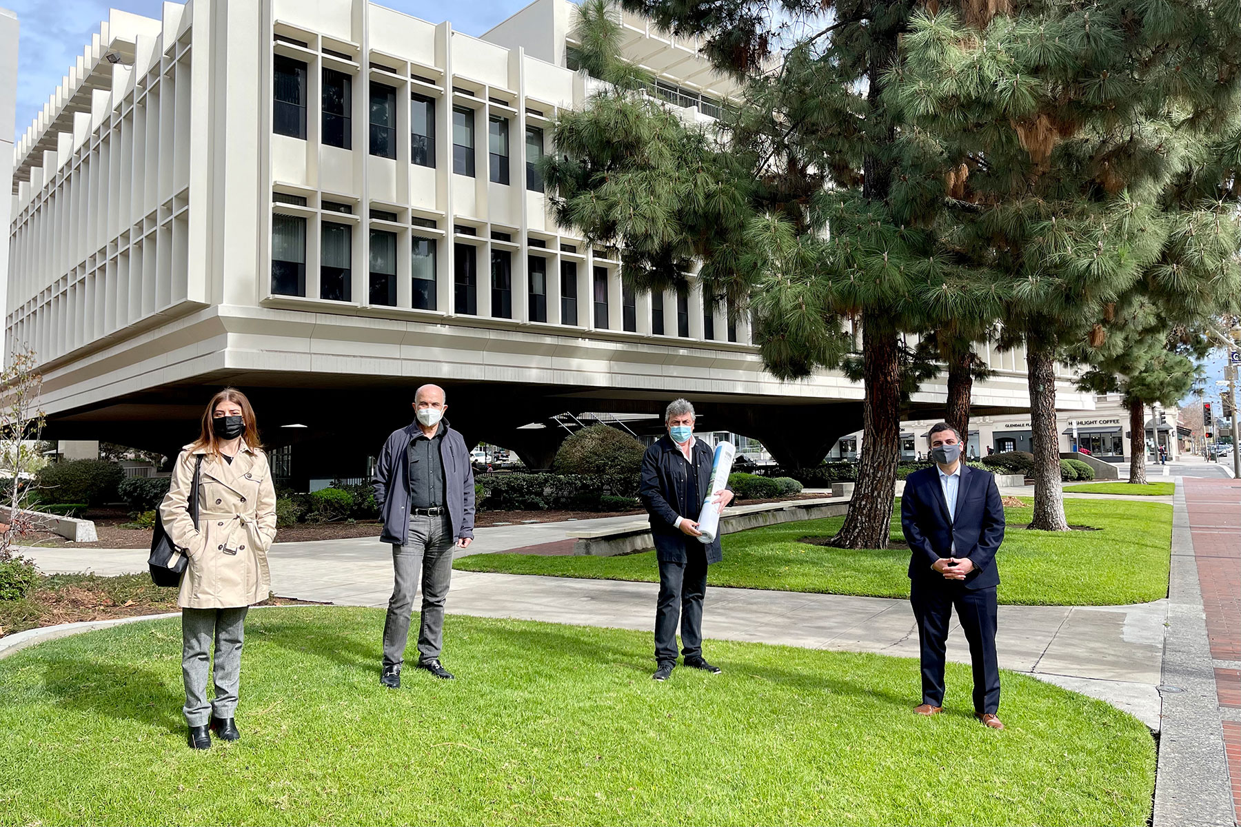Armenian American Museum Construction Documents Submission at Glendale City Hall