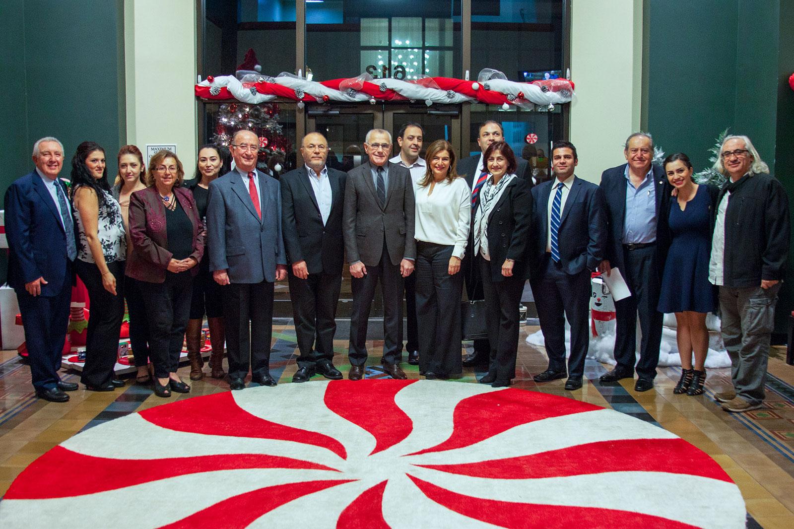 Armenian American Museum Development Committee 12-8-2015